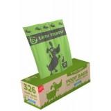 EF Poop Bags - 326 Bags on Bulk Roll