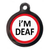 I am Deaf Pet Tag